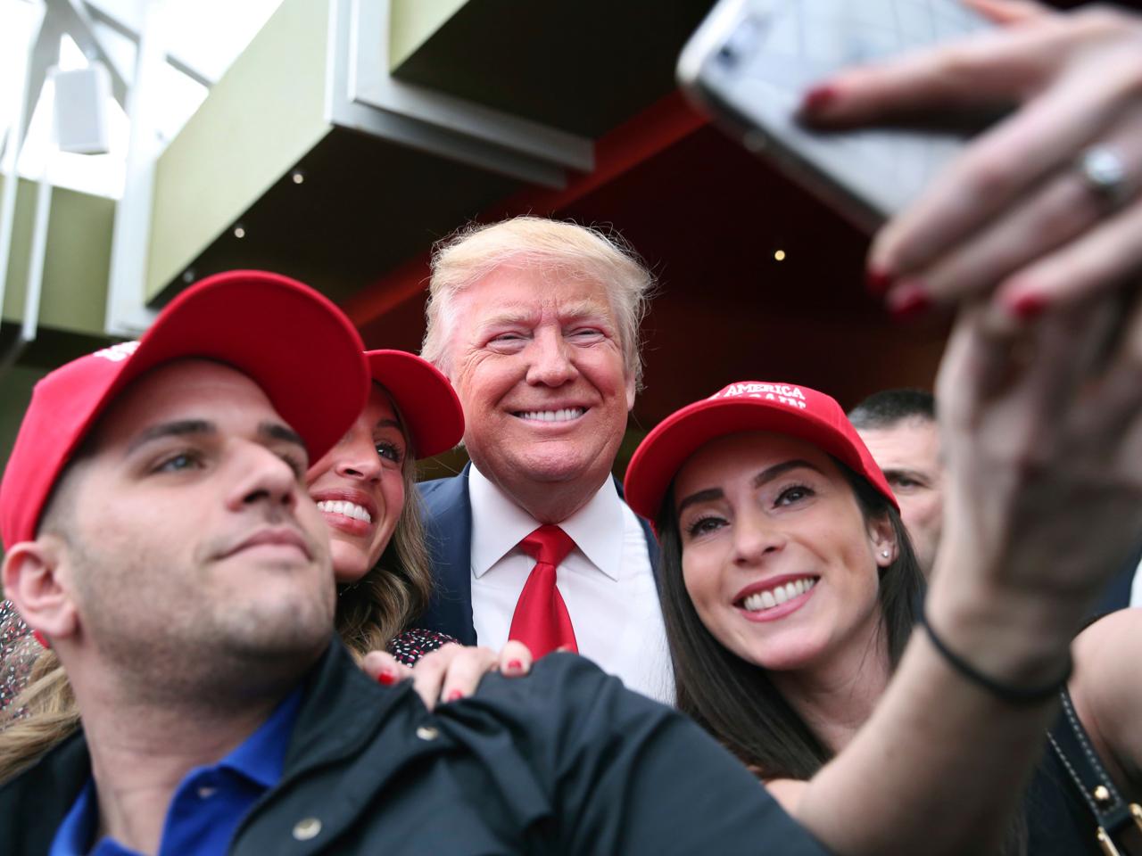 Donald Trump, Pat Montelli, Catherine Freeman
