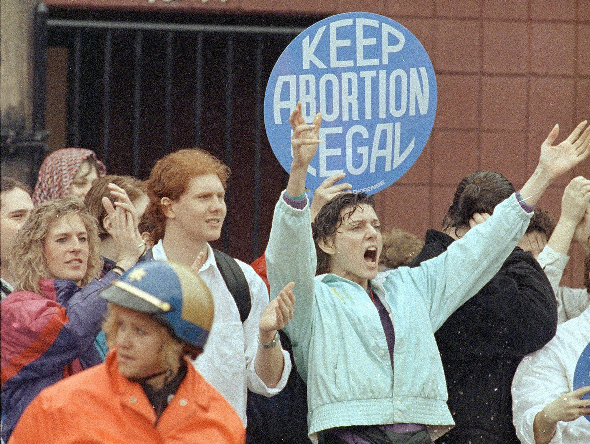 Pro Choice Protesters 1992