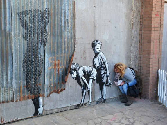 Banksy's Dismaland Bemusement Park Opens In Weston-Super-Mare