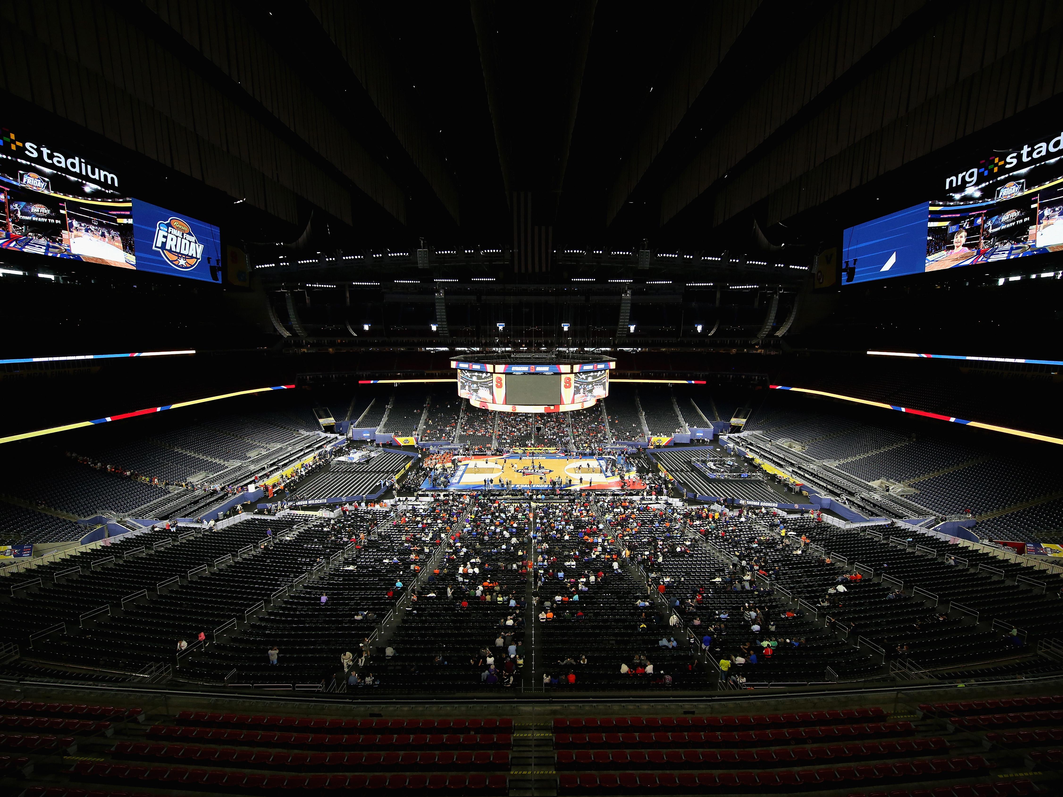NCAA Men's Final Four – Practice