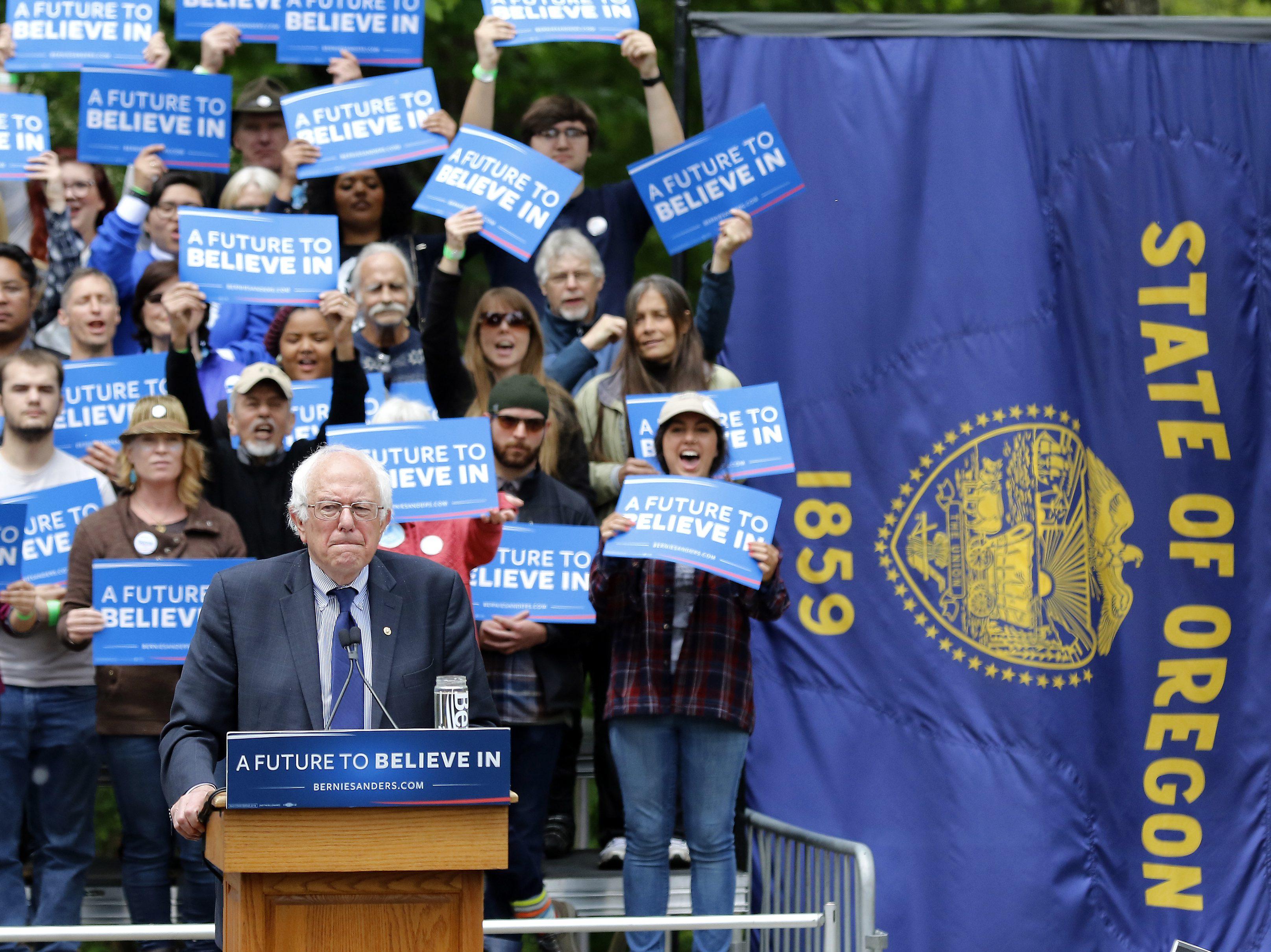 DEM 2016 Sanders Primary