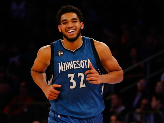 Minnesota Timberwolves v New York Knicks
