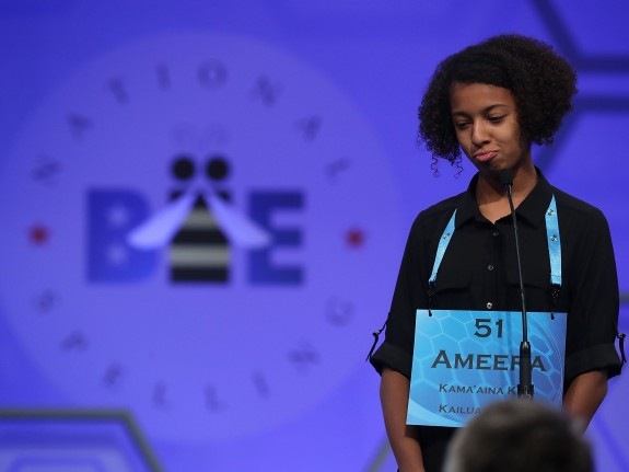 Children Compete In Annual E.W. Scripps Spelling Bee