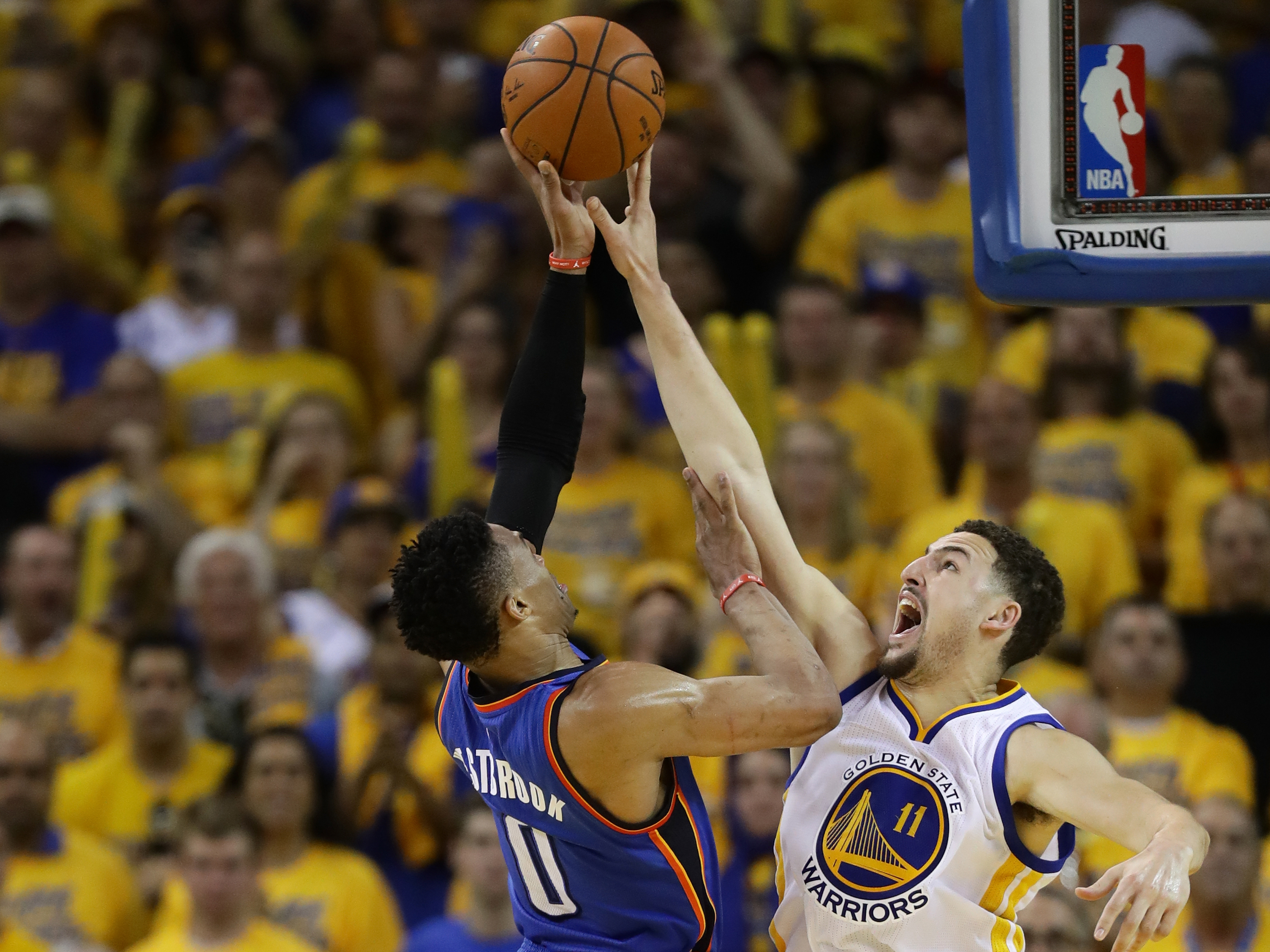 Oklahoma City Thunder v Golden State Warriors – Game Seven
