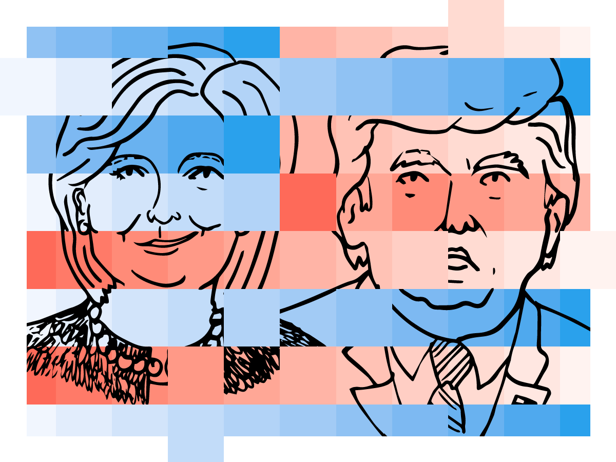 2016 Election Forecast Fivethirtyeight - Us-map-popular-vote-2016