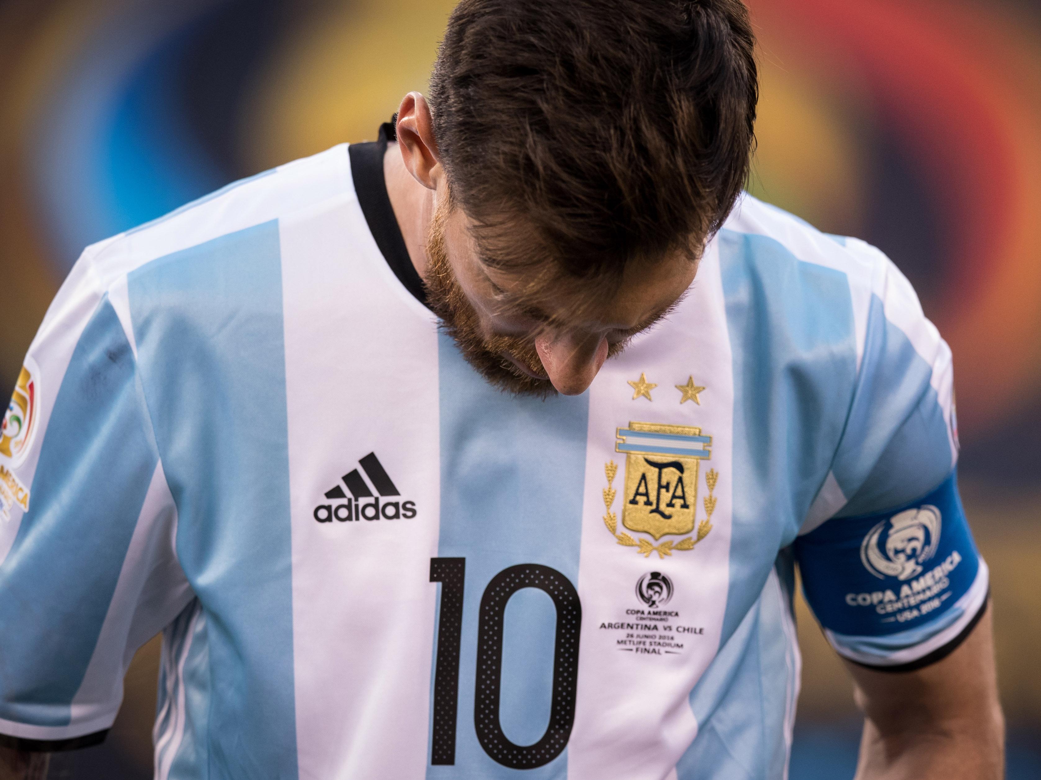 Copa America Centenario Final Argentina vs Chile Soccer, 2016