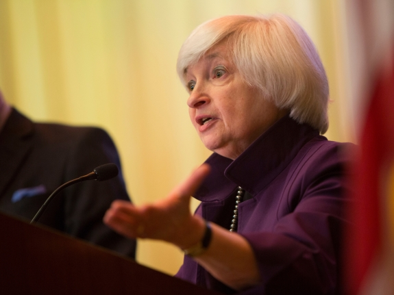 Yellen Delivers Speech On Economic Outlook And Monetary Policy In Philadelphia