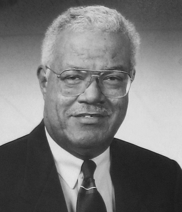 City Hall photograph of Bill Johnson, who was mayor of Rochester, New York, from 1994 to 2005. Project Exile began in the city in 1998.