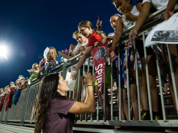 Washington Spirit vs. Seattle Reign women's soccer