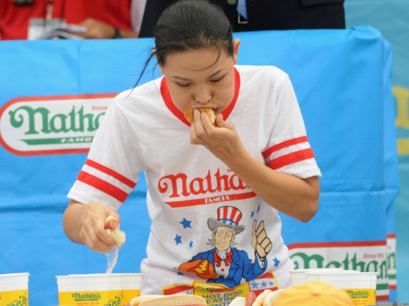 2014 Nathan's Famous 4th July International Hot Dog Eating Contest