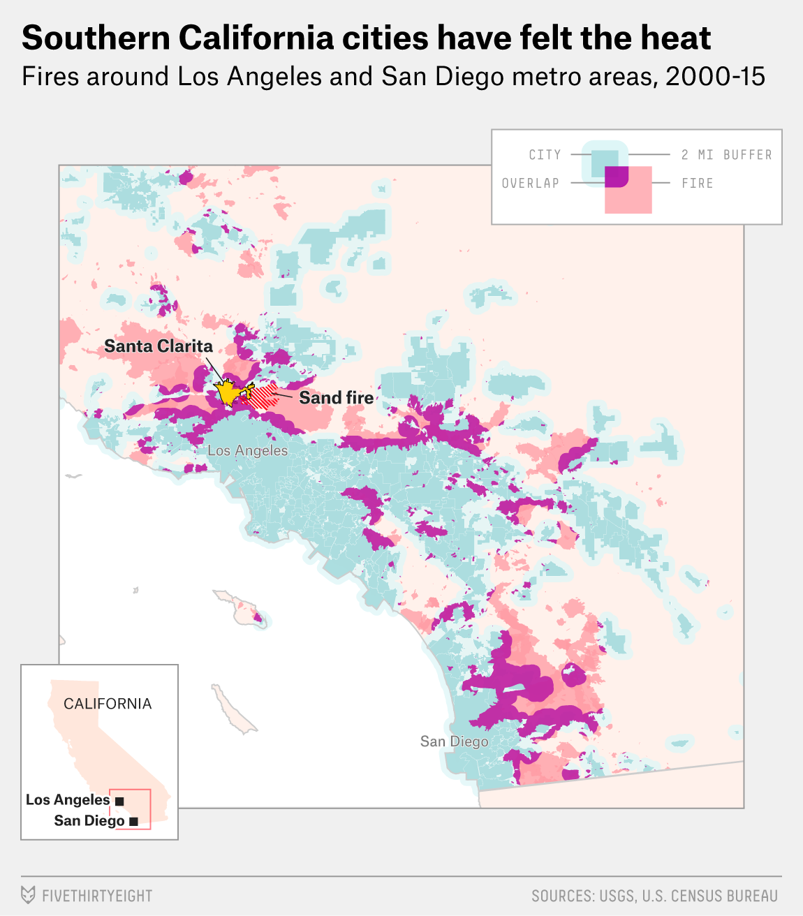 Cities In Southern California Can T Escape The Fire At Their Door