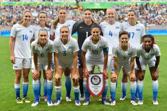 USA v France: Women's Football – Olympics: Day 1