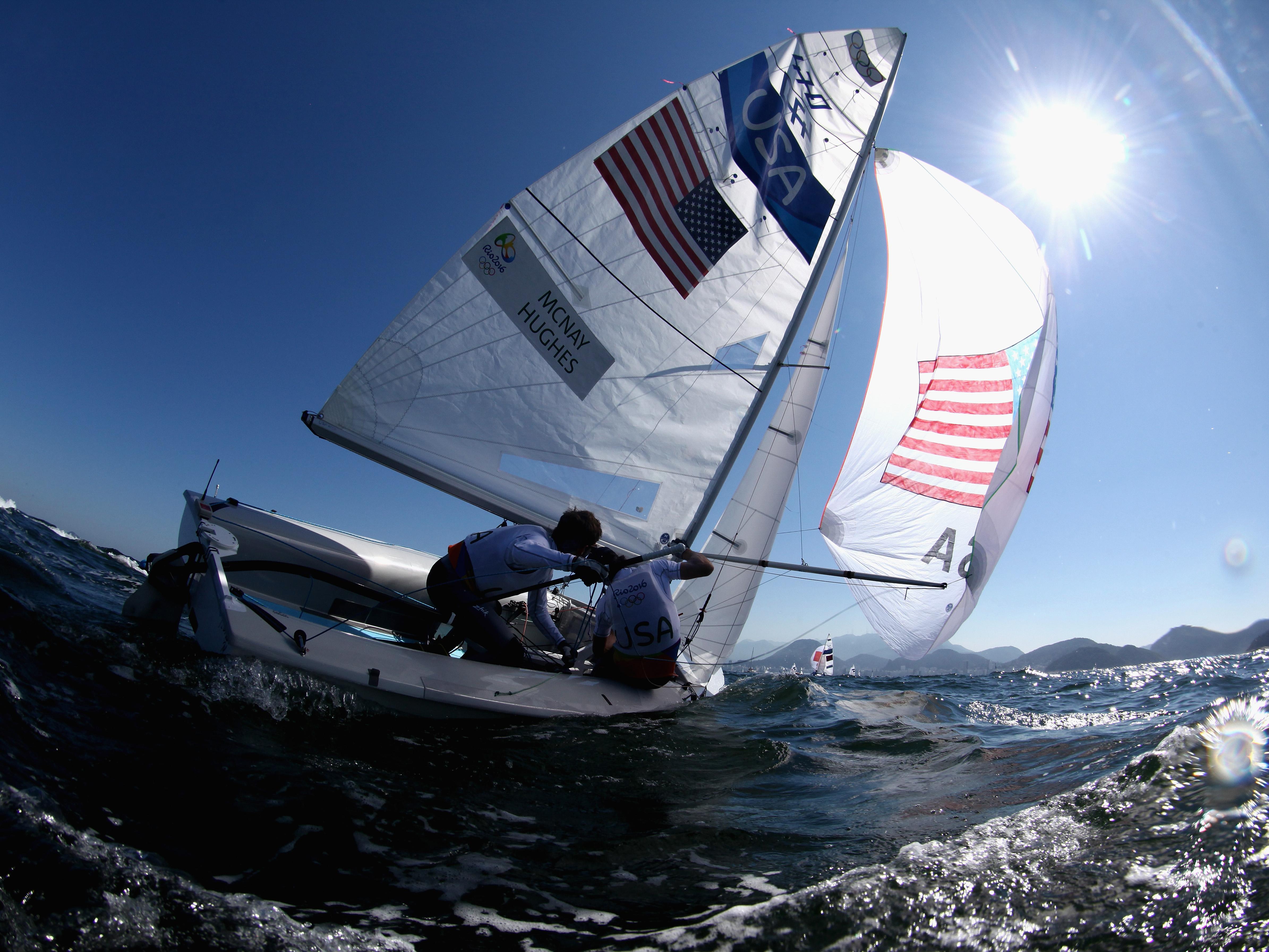 Sailing – Olympics: Day 9