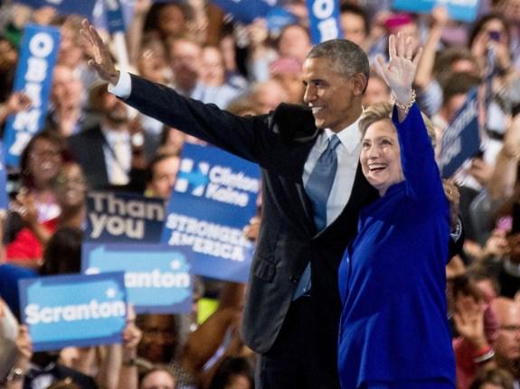Hillary Clinton,Barack Obama