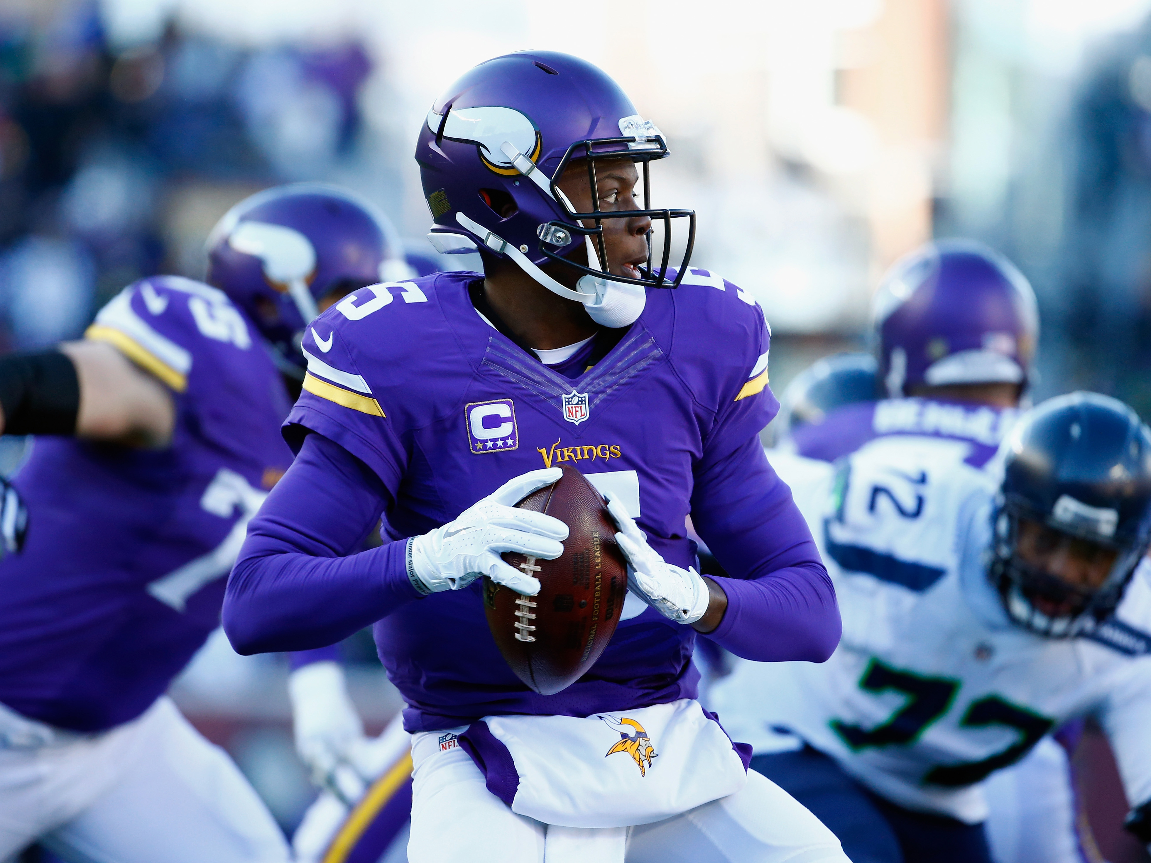 Wild Card Round – Seattle Seahawks v Minnesota Vikings