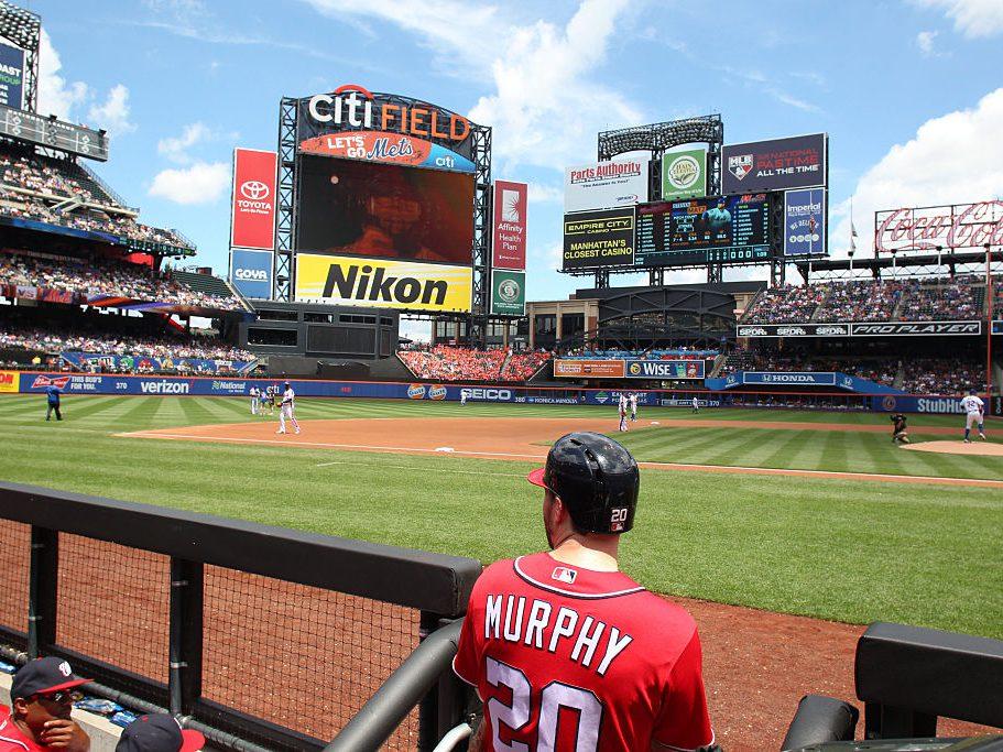 Washington Nationals Vs New York Mets