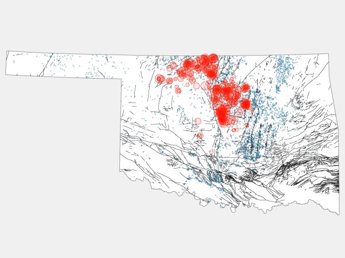 how the oil and gas industry awakened oklahomas sleeping fault lines fivethirtyeight