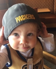Thanks a lot, Kroenke, you've put my niece fully in the Packers' camp.