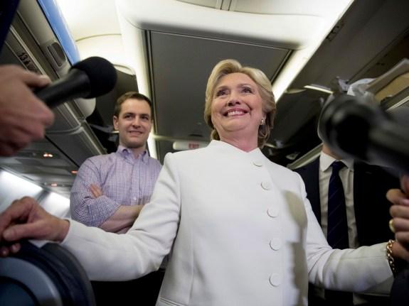 Hillary Clinton,Robby Mook,Nick Merrill