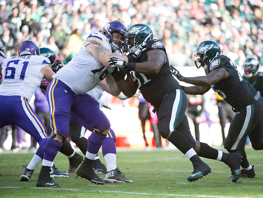 NFL: OCT 23 Vikings at Eagles