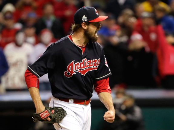 World Series – Chicago Cubs v Cleveland Indians – Game One