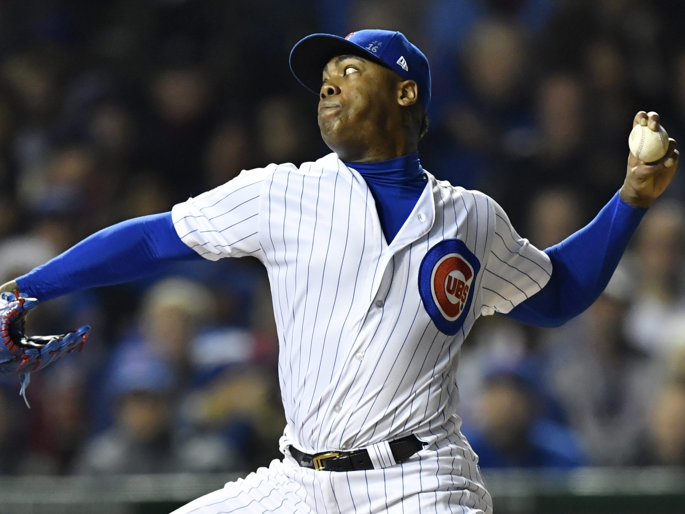 MLB: OCT 28 World Series – Game 3 – Indians at Cubs