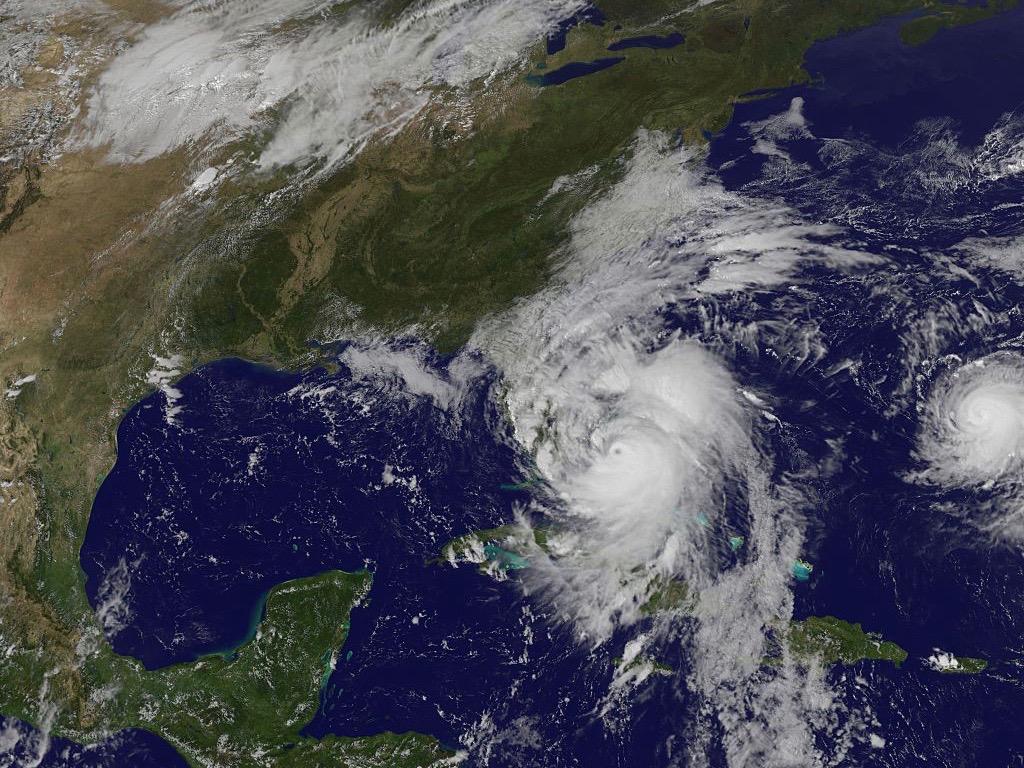 Hurricane Matthew Satellite