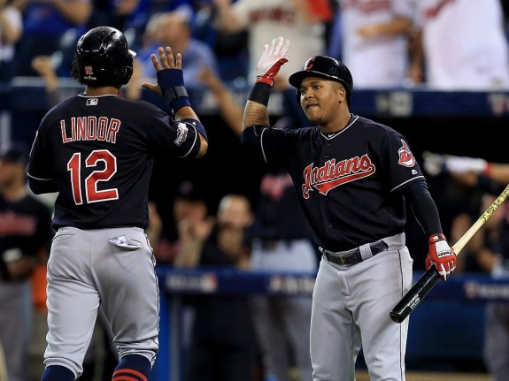 ALCS – Cleveland Indians v Toronto Blue Jays – Game Five