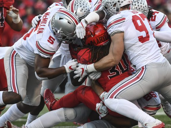 NCAA Football Maryland Terrapins vs Ohio State Buckeyes