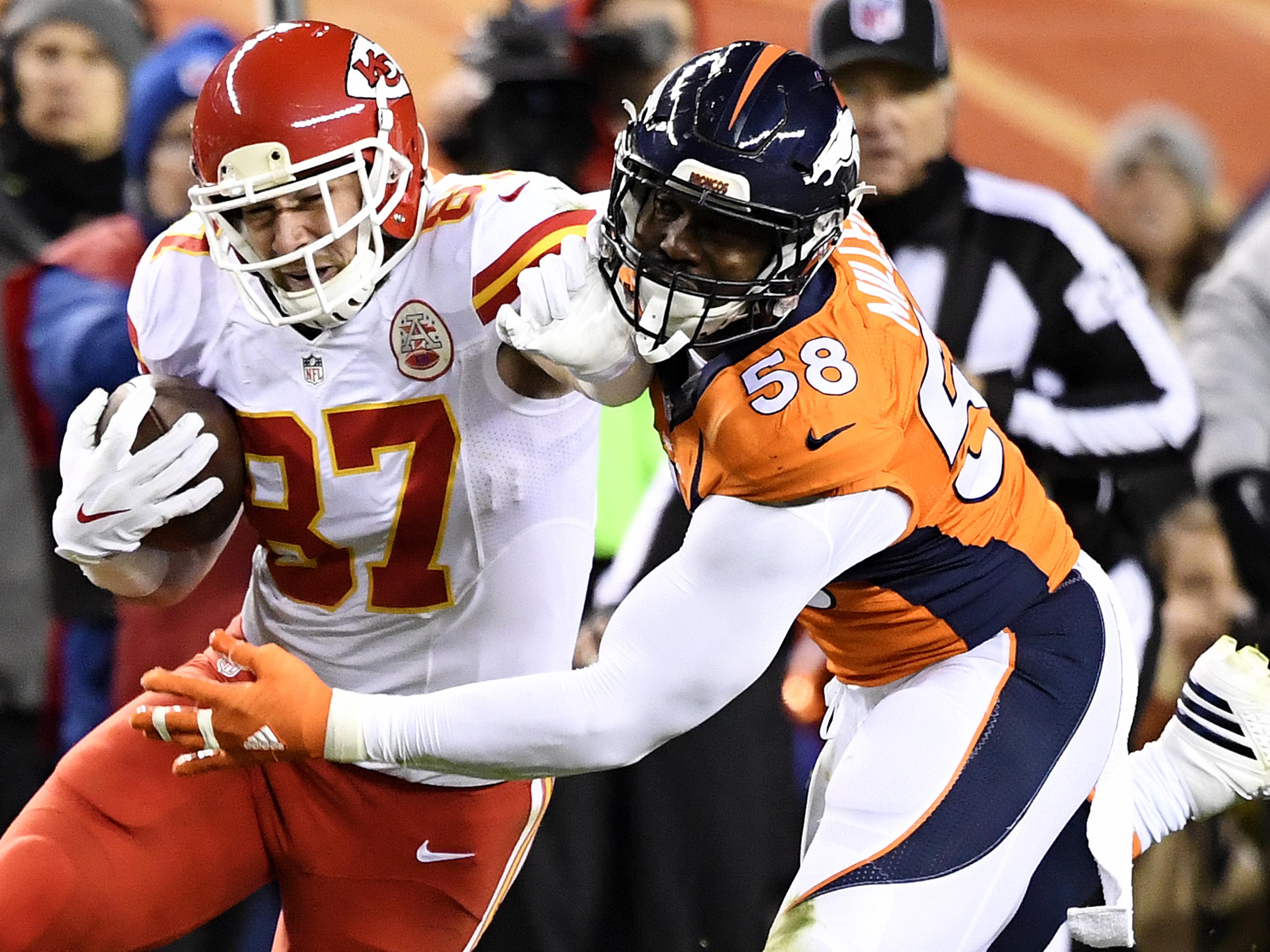 Denver Broncos vs. Kansas City Chiefs, NFL Week 12