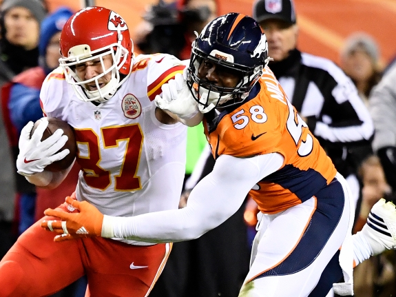 Denver Broncos vs. Kansas City Chiefs, NFL Week 12