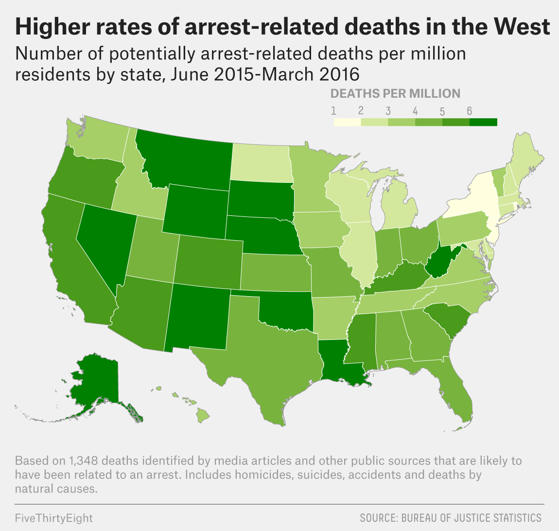 The Government Finally Has A Realistic Estimate Of Killings By Police