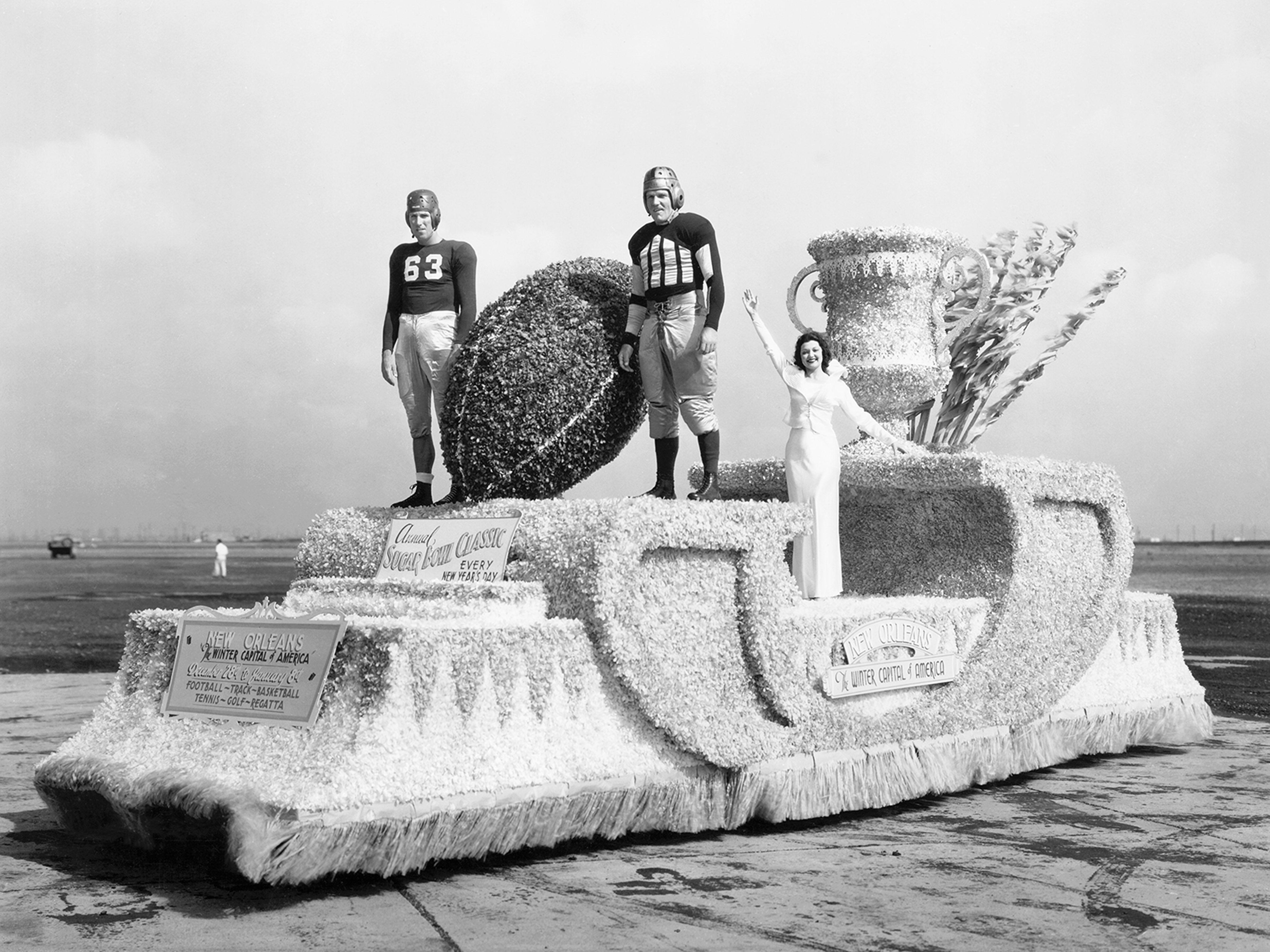 Miss America Sugar Bowl Float