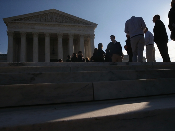 Supreme Court Hears Arguments In Alabama Gerrymandering Case