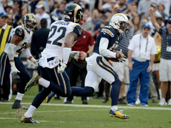 St. Louis Rams vs San Diego Chargers