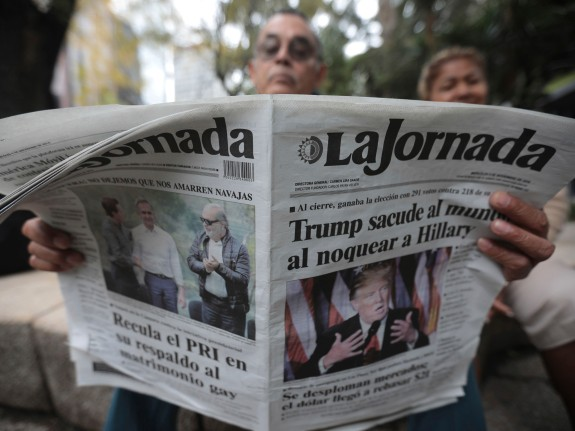 Reactions in Mexico over Donald Trump Triumph