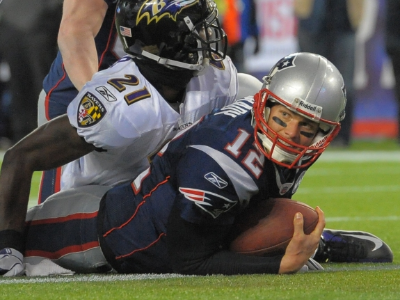 NEW ENGLAND PATRIOTS VS. BALTIMORE RAVENS