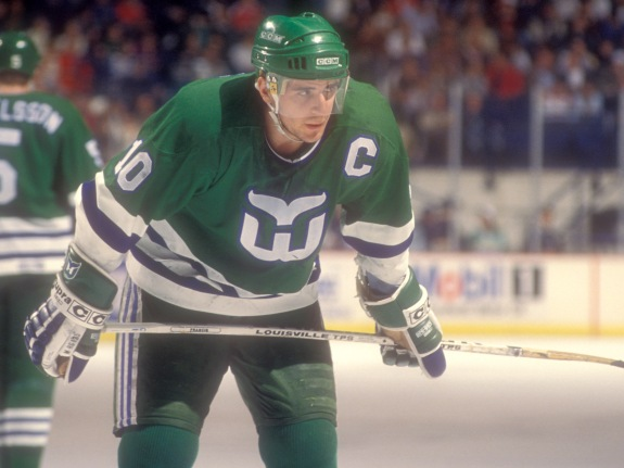 Hartford Whalers v Washington Capitals