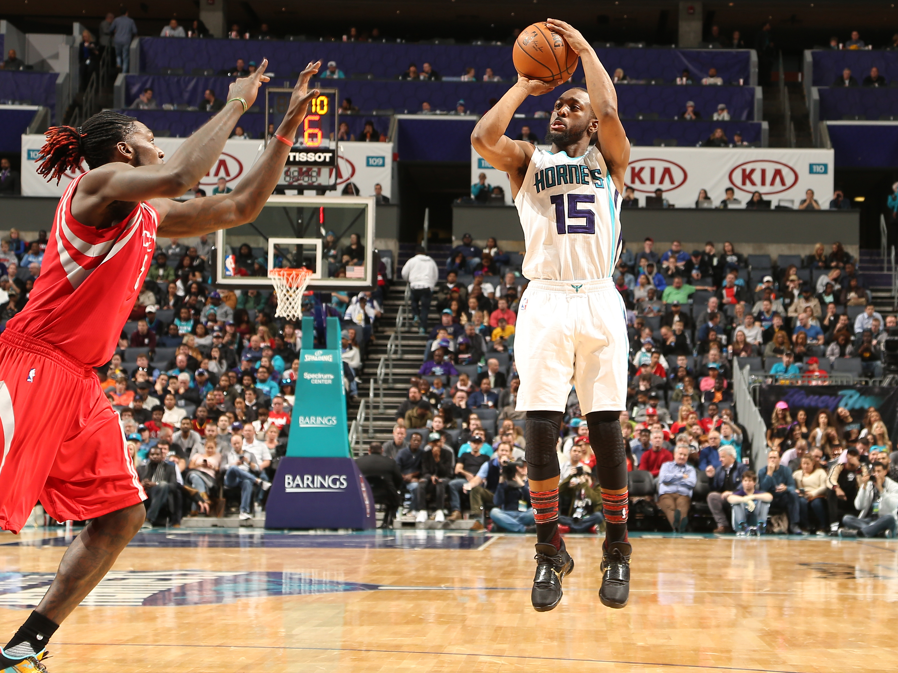 Houston Rockets v Charlotte Hornets