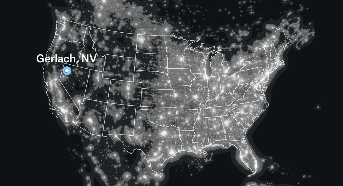 Darkest Places In The Us Map The Darkest Town In America | FiveThirtyEight