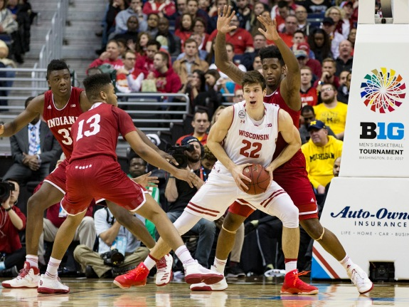 COLLEGE BASKETBALL: MAR 10 Big Ten Tournament – Wisconsin v Indiana