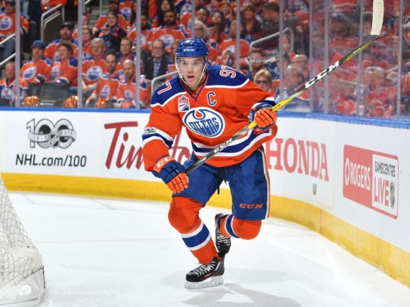 San Jose Sharks v Edmonton Oilers – Game One