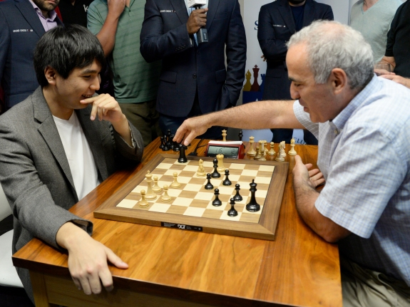 Sinquefield Cup Chess Tournament's Ultimate Moves Garry Kasparov