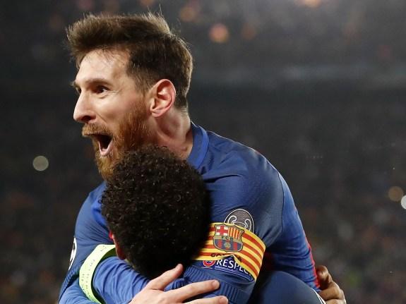 "UEFA Champions League""FC Barcelona v Paris Saint Germain"""