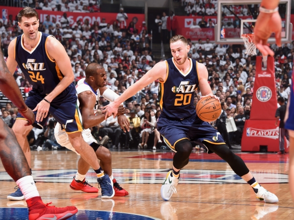 Utah Jazz v Los Angeles Clippers – Game One