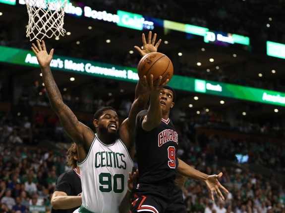 Chicago Bulls v Boston Celtics – Game One