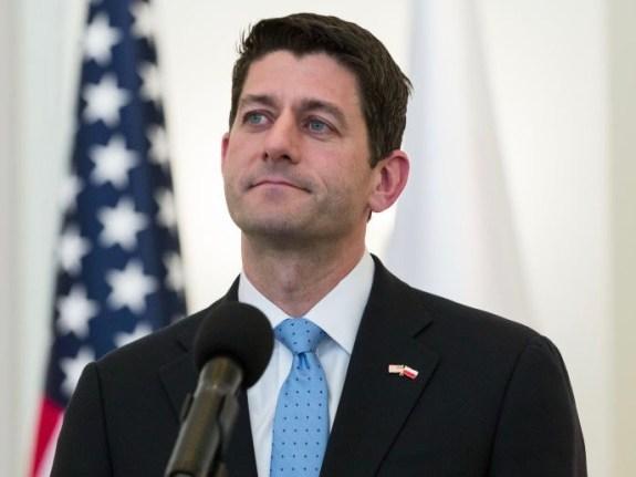 Paul Ryan in Warsaw