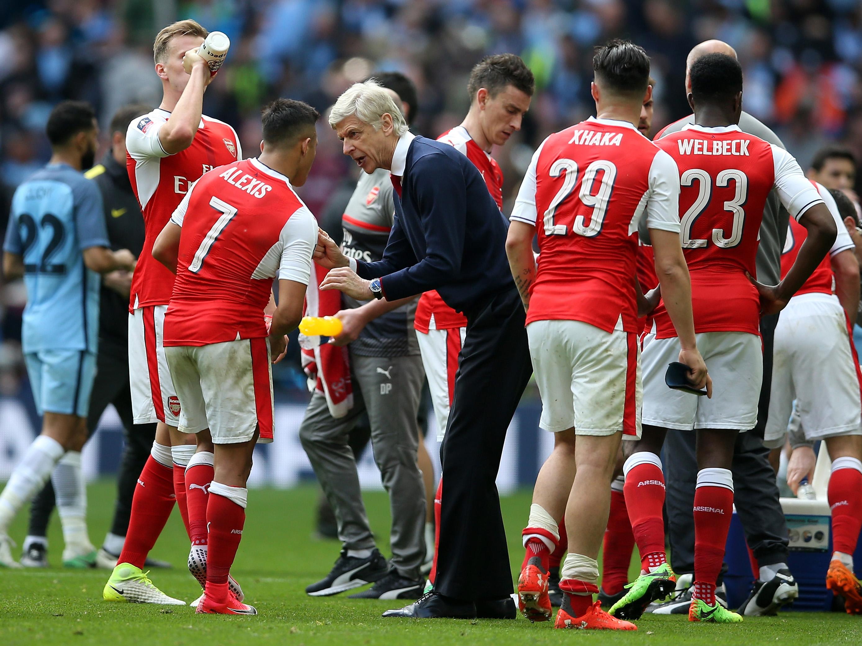Arsenal v Manchester City – The Emirates FA Cup Semi-Final