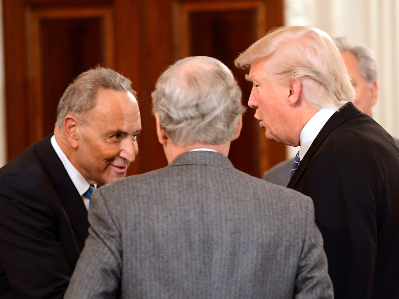 Trump Hosts a Congressional Leadership Reception