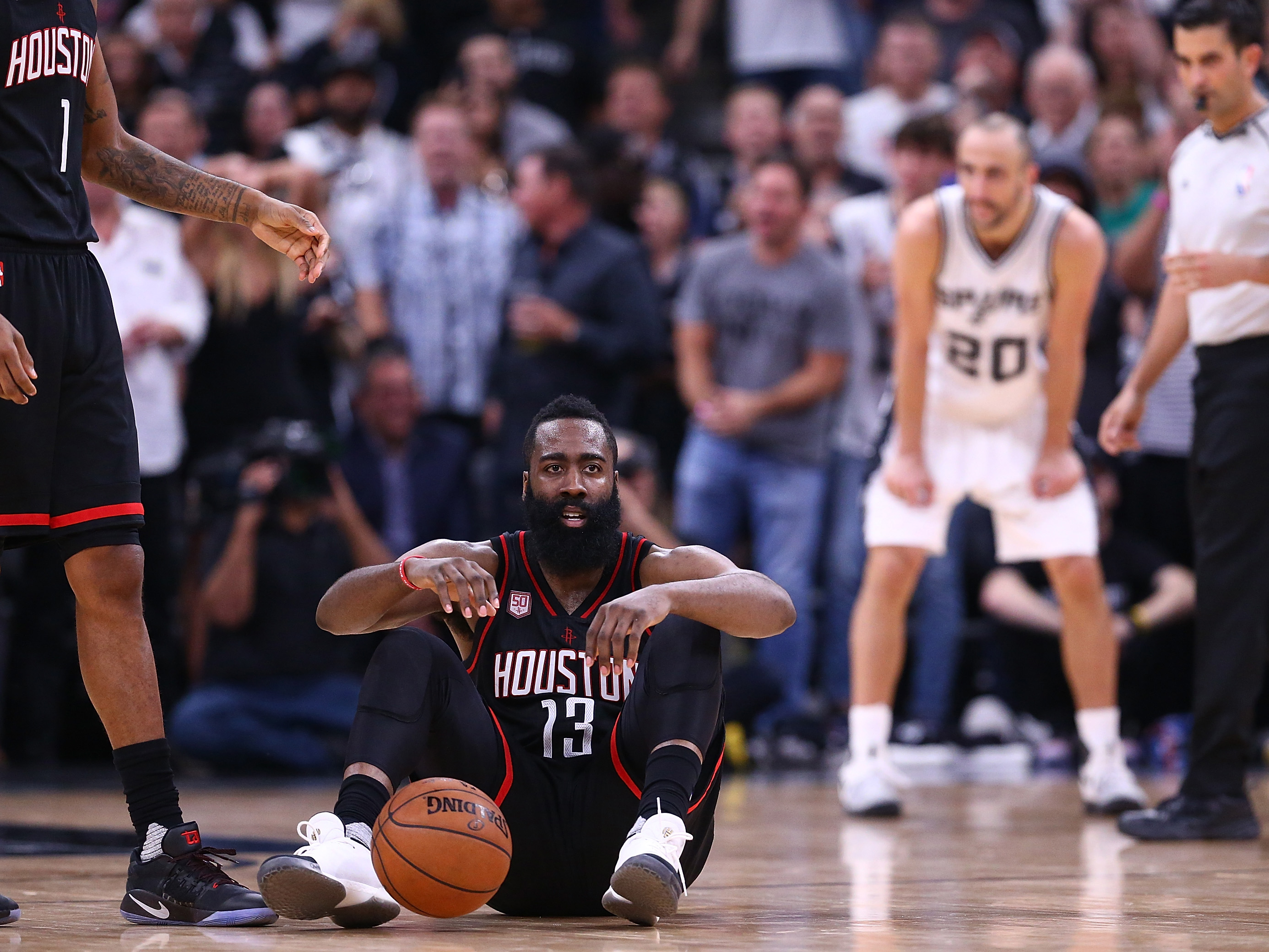 Houston Rockets v San Antonio Spurs – Game Five